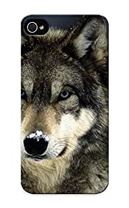 High Quality Graceyou Animals Wolves Skin Case Cover Specially Designed For Iphone - ipod touch4