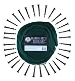 Grandpa Gus's Pond Netting - 25 x 25 ft - Easy Setup Pool and Fishpond Nylon Net Protects Backyard Fish, Ponds and Koi from Birds and Leaves