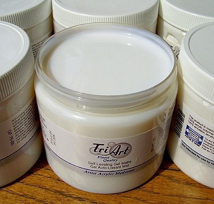 Tri Art Self Leveling Gel Gloss 250ml (8.5 oz)