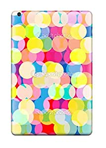 Ipad Mini/mini 2 Case, Premium Protective Case With Awesome Look - Bright Colorful Circles Pattern