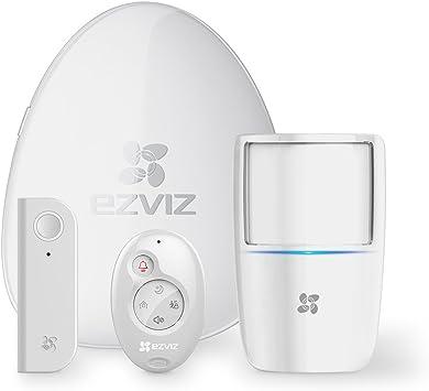 EZVIZ Kit de alarma, incluye 1 central de alarma conectada a ...