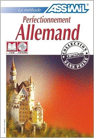 Amazon Fr Perfectionnement Allemand 1 Livre Coffret De 4 Cd Assimil Collection Perfectionnement Livres