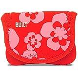 Built NY 229588 BUILT Neoprene Compact Camera Envelope - Summer Bloom, Red-Pink