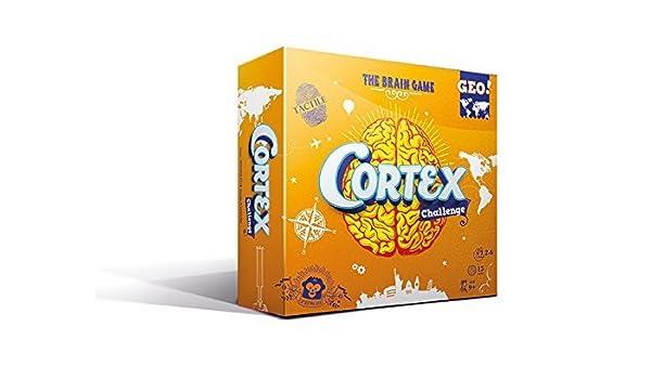 Captain Macaque ASMCORGE01ML Cortex Challenge Geo Card Game by Captain Macaque: Amazon.es: Juguetes y juegos