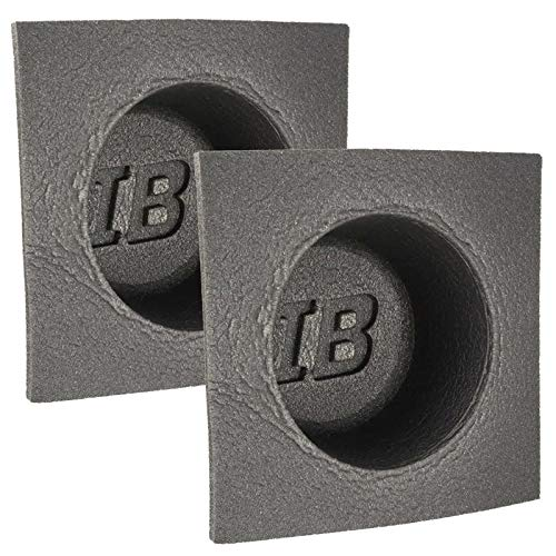 Pair 6.5 The Install Bay IBBAF60 6.5 inch Foam Car Audio Black Speaker Baffle