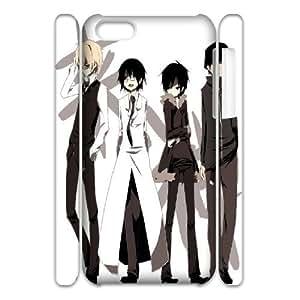 3D IPhone 5C Case, Chibi ( Ish) Durarara Case for IPhone 5C {White}