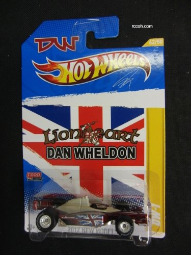 Hot Wheels 2012 New Models Chase 2011 Indycar Oval Course Race Dan Wheldon DW-1 Real Riders -