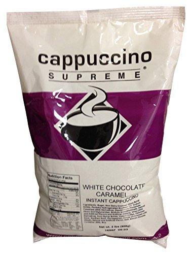 White Chocolate Caramel Cappuccino Mix (6 X 2lb. Bags)