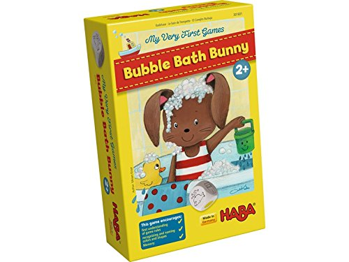HABA My Very First Games - Bubble Bath Bunny Memory & Matching Game (Made in Germany) First Bunny