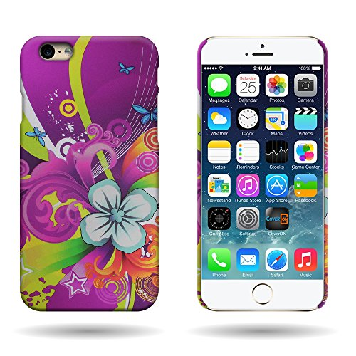 (Fit iPhone 6s Hard Case, Flower Design (Floral Medley) CoverON Slim One Piece Back Protector Hard Shell Phone Cover for Apple iPhone 6s / iPhone 6 (4.7))