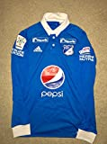 New Authentic Millonarios de Colombia Blue Home Jersey (Small)