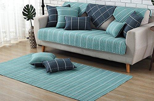 - ZebraSmile 1 Piece Various Sizes 100% Cotton Sofa Towel Cover Decrotive Sofa Cover Antiskid Sofa Slipcover For Sofa Seat/Sofa Arm