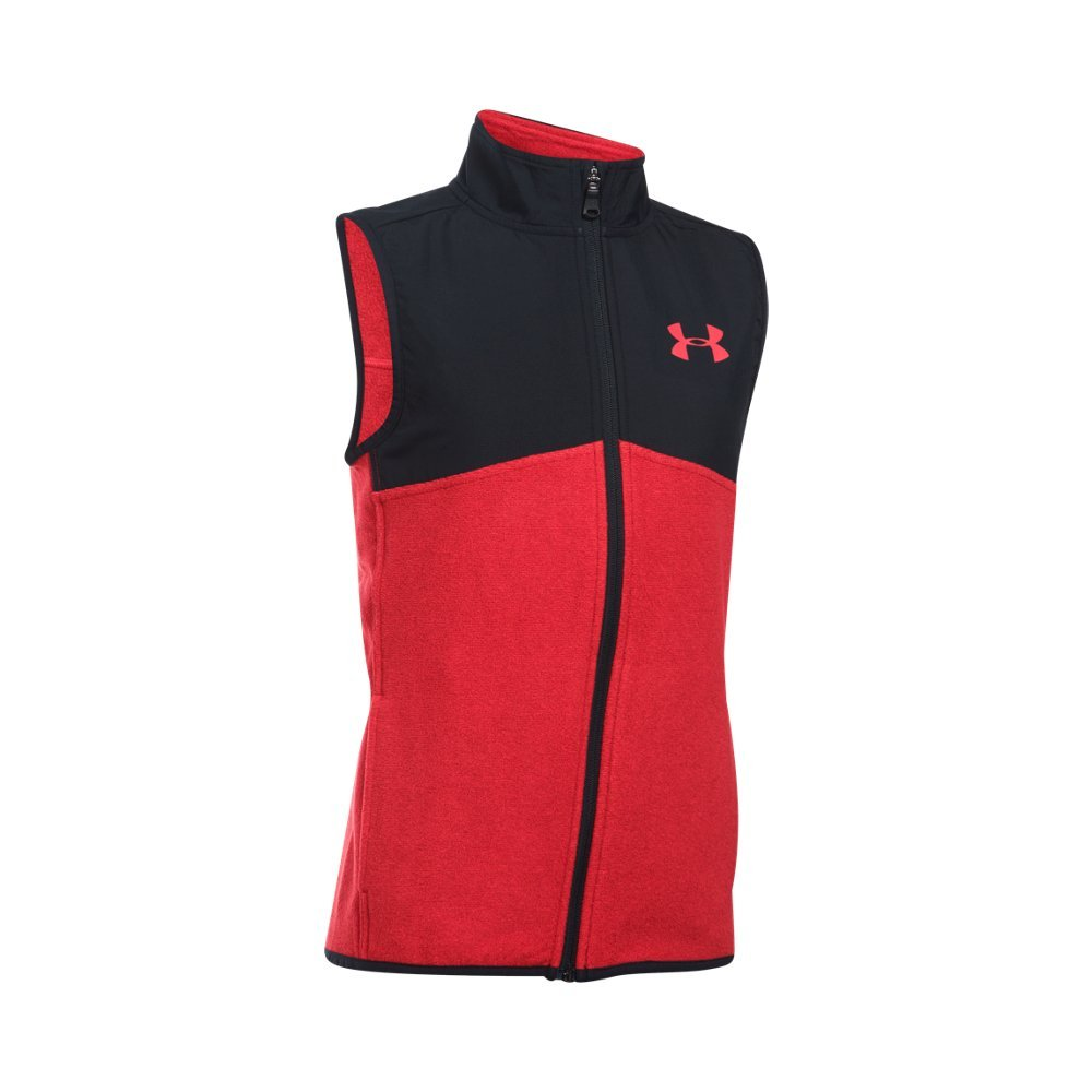 Under Armour Boys' Phenom Vest,Red (600)/Red, Youth Large