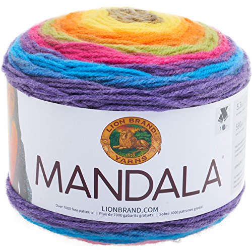 Lion Brand Yarn 525-209 Mandala Yarn, Gnome, ()