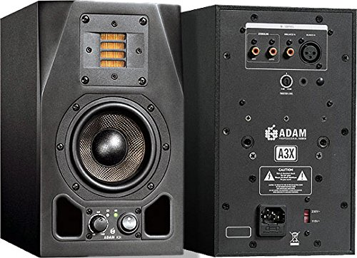 Adam Audio A3X 2-Way 4.5'' Studio Monitor Pair by Adam Audio