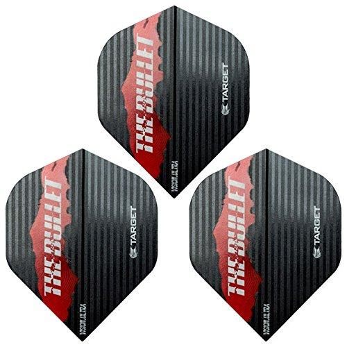 TARGET(ターゲット) VISION ULTRA フライト(ビジョンウルトラフライト) BUNTING 80% モデル <331270> (ダーツ フライト)の商品画像