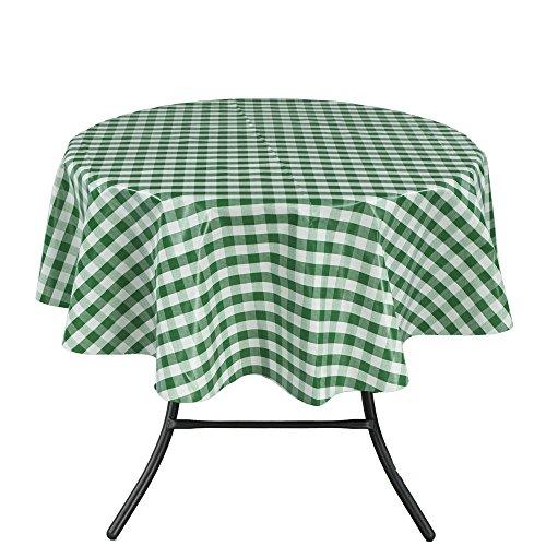 Vinyl Tablecloth Checkered Design Indoor Outdoor