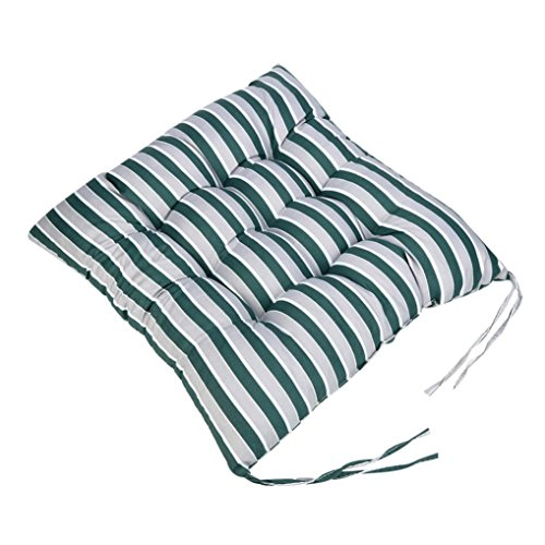 Sothread Soft Striped Chair Cushion Indoor Outdoor Garden Patio Home Kitchen Office Sofa Seat Pad A
