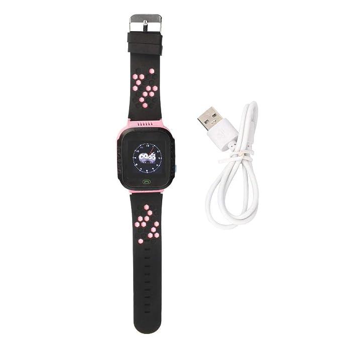 Mootea Niños Smart Teléfono Celular Reloj Kid Pantalla táctil ...