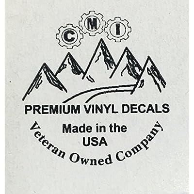 CMI188 Molon Labe (Come and TAKE Them!) Vinyl Decal Sticker White   10.75