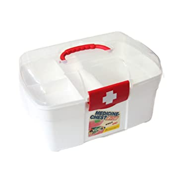 Incroyable Skedee Storage Box Organizer/First Aid Kit/Family Emergency Container