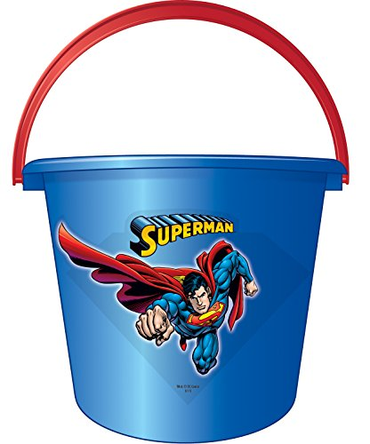 DC Comics Superheroes Sand or Trick-or-Treat Pail (Trick Or Treat Costumes)