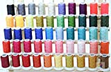 50 Cones Polyester Embroidery Thread BROTHER / BABYLOCK COLORS 40wt 1100yards from ThreadNanny