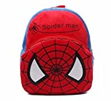 Cartoon Bag Spiderman Cute Kids Plush Backpack Cartoon Toy Children's Gifts Boy/Girl/Baby/Student Bags Decor School Bag For Kids (Spiderman)