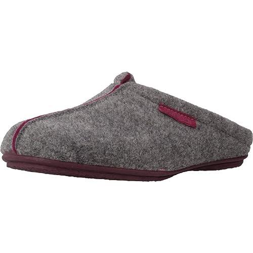Zapatillas de Estar por casa de Mujer, Color Gris, Marca VULLADI, Modelo Zapatillas De Estar por Casa De Mujer VULLADI 4616 41 Gris: Amazon.es: Zapatos y ...