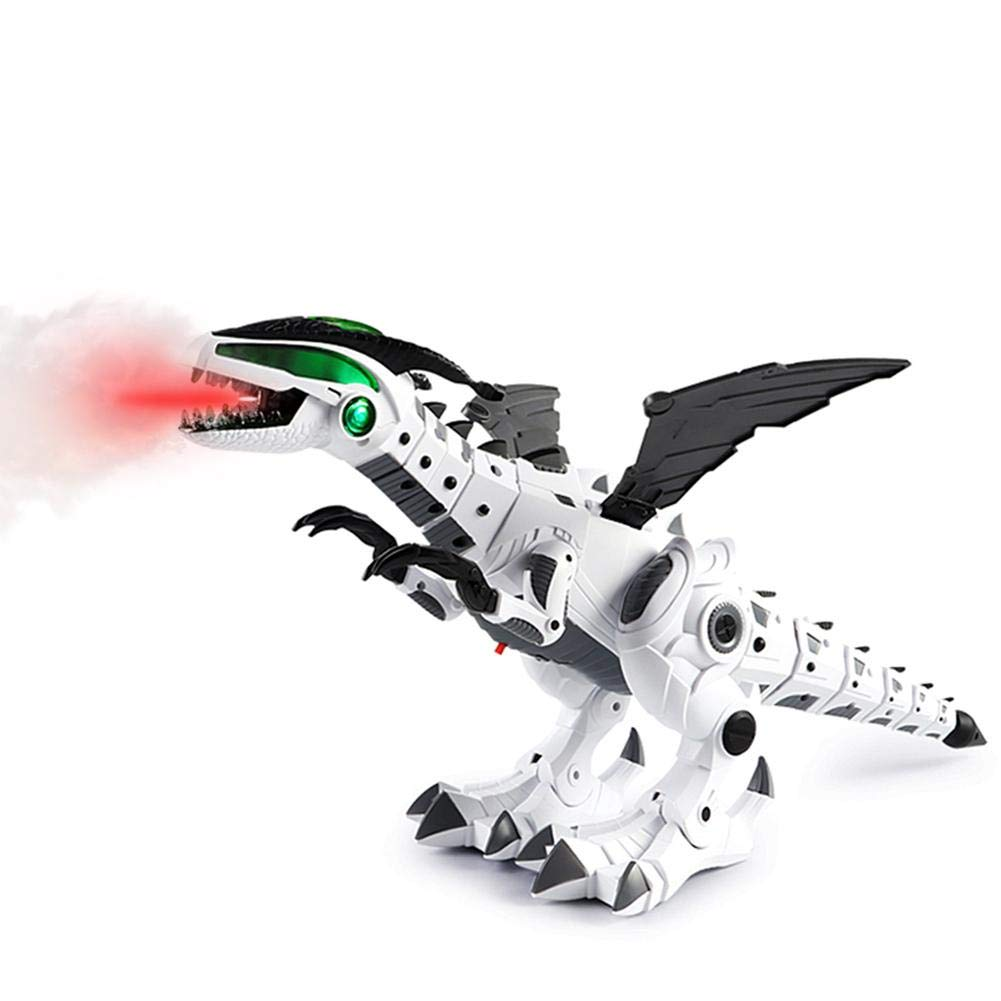 Amazingdeal Learning Educational Toys Gift for Boys and Girls Dinosaur Toys for Kids Spray Sound Lighting Electric Dinosaur Model Toys Creative Education Toy