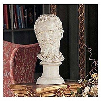 Design Toscano Michelangelo Buonarroti Bust