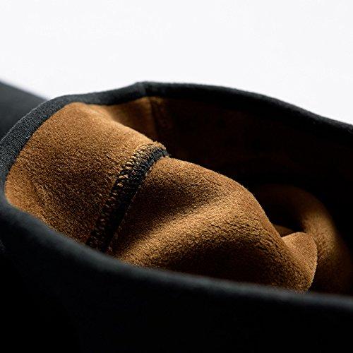 GBHNJ Leggings Women'S Peut Plus Épais Se Porter À L'Extérieur Petit L'Automne Et L'Hiver Noir Thermique F(Poids Approprié 80-130 Catty)