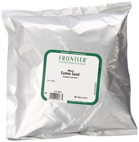 Frontier Bulk Cumin Seed Whole (dewhiskered) 1 lb. package