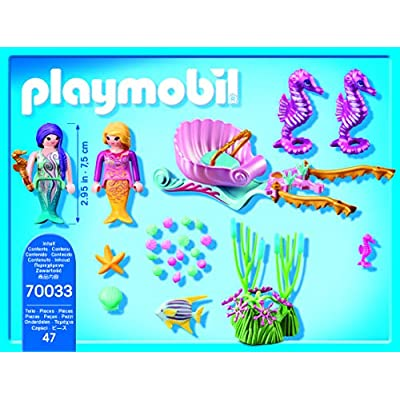 PLAYMOBIL Seahorse Carriage and Figure Pack Playset: Toys & Games