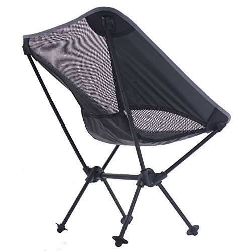 Lightweight Folding Camping Backpacking Chair 2017 Updated Ultralight Portable Foldable Outdoor Camp Chairs For Hiking Motorcycling Fishing Car Travel Picnic Beach Lounging Touring