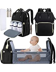 Diaper Bag Backpack with Changing Station, Multi-functional Waterproof Travel BackPack Large Capacity Nappy Changing Bags