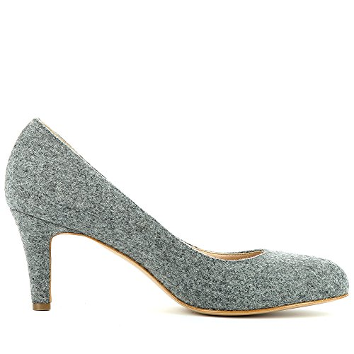ShoesBIANCA gris medio caño Mujer Evita FdHqnv7wv