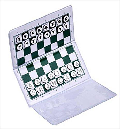 Magnetic Travel Chess Set - US Chess Checkbook Magnetic Travel Chess Set - by US Chess Federation
