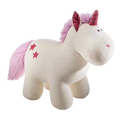 HT TOYS Unicorn Horse Fluffy Plush Soft Toy(20cm, Multicolour)