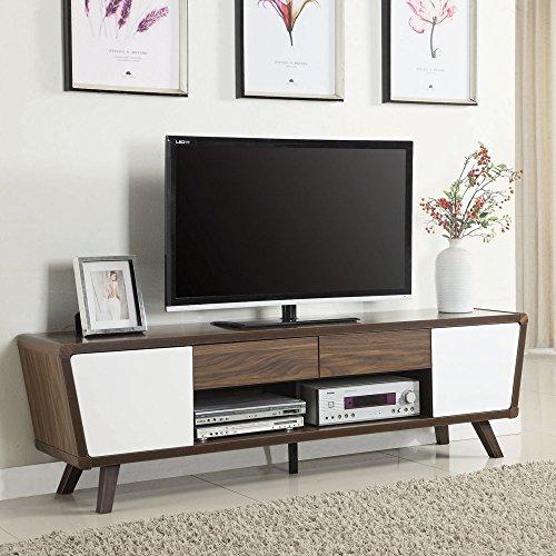 Coaster Furniture Trapezoid Two-Tone TV Console 51PEjMD 2BziL