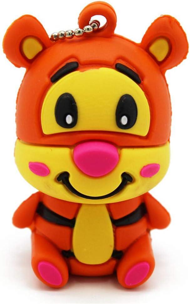 GGOII Flash Drive Cute Cartoon Animal Tiger//Donkey//Pig pendrive 4GB 8GB 16GB 32GB Stick USB Flash Drive