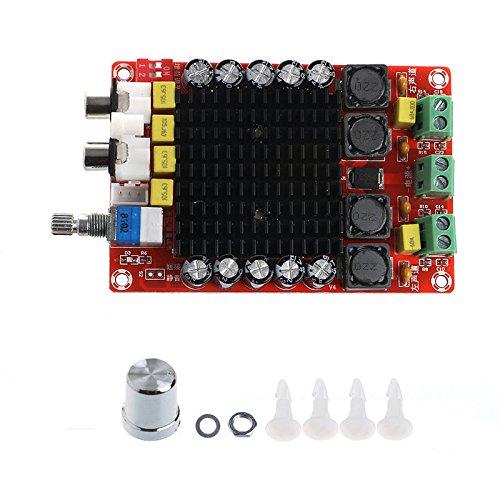 P Prettyia Profesional Tda7498 2 * 100w Tablero de Amplificador de Potencia Digital Clase D Audio Doble