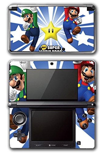 New Super Mario Bros Luigi Star Power Video Game Vinyl Decal