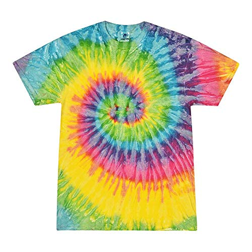 Colortone Tie Dye T-Shirt SM Saturn
