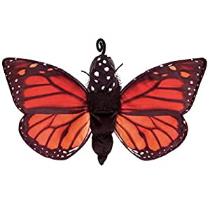 Folkmanis Monarch Life Cycle Reversible Hand Puppet Plush