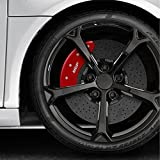 MGP Set of 4 Red Caliper Covers for 2012-2017 Toyota Camry