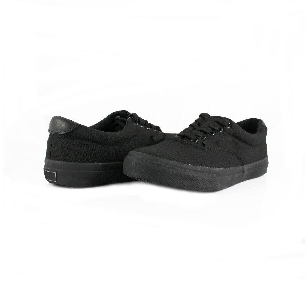 Townforst Cheryl Slip Resistant Black Sunbrella Water Resistant Non Slip Waitress Shoes 7.5