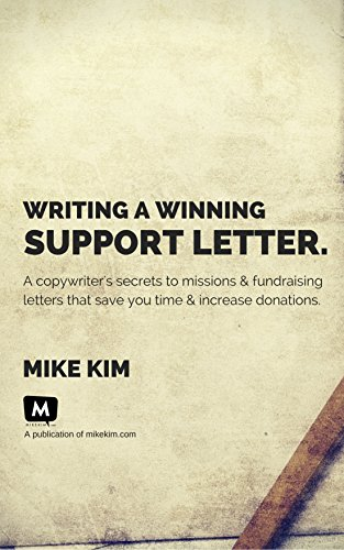 Writing A Winning Support Letter A Copywriter S Secrets To Missions