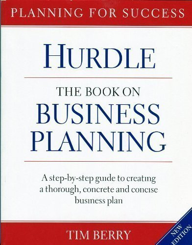 Hurdle: The Book on Business Planning (Best Caravans On The Market)