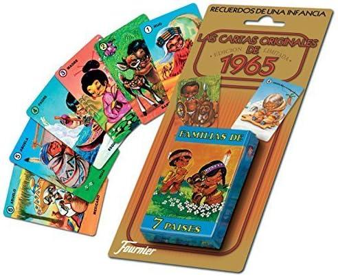 familias-de-7-paises-las-cartas-originales-de-1965 by Naipes Heraclio Fournier: Amazon.es: Juguetes y juegos